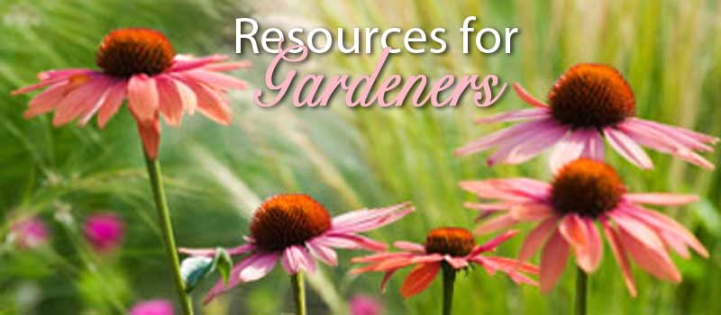 resources for gardeners
