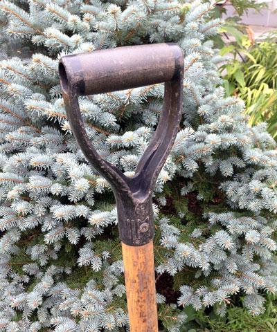 spade handle