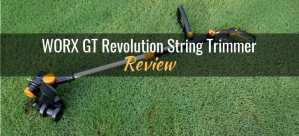 WORX GT Revolution string trimmer review