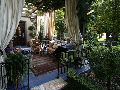 Outdoor Living Spaces - Gardening Solutions - University ... on Garden And Outdoor Living id=37522
