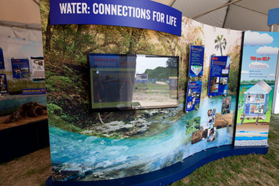 Water exhibit