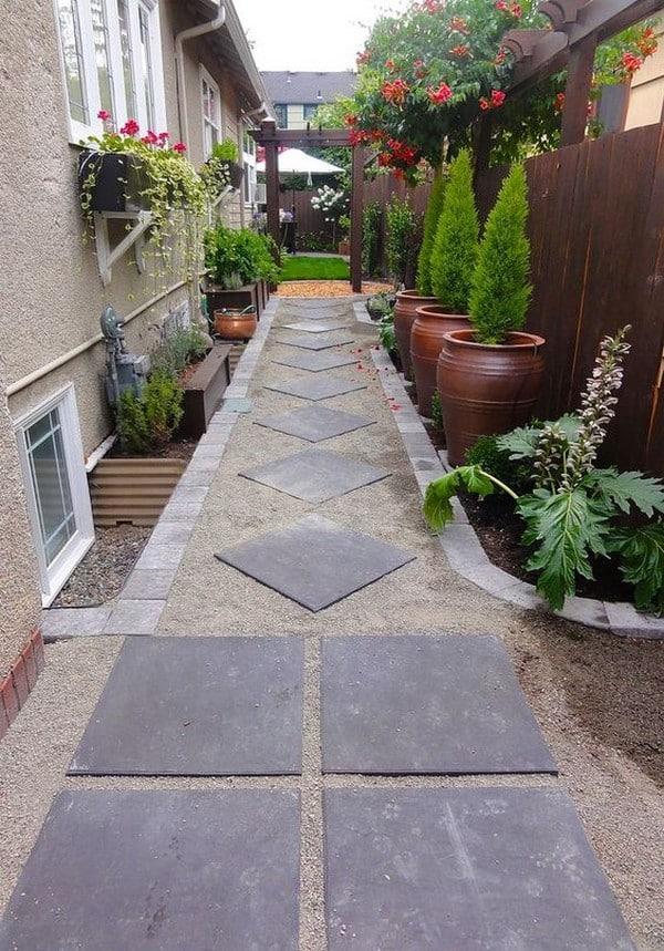 15 Absolutely Stunning Side Yard Decor Ideas You Must See on Side Yard Walkway Ideas id=11185