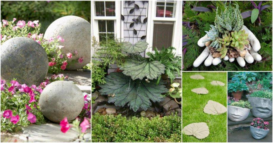 DIY Concrete Garden Decor That Will Steal The Show For Sure on Diy Garden Decor  id=69022