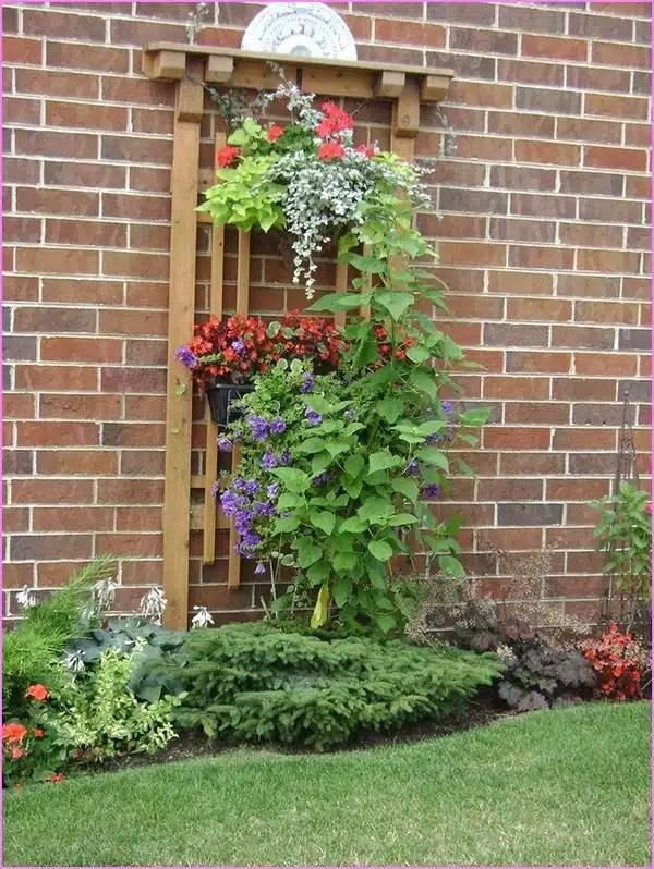 18 Impressive Garden Decor Ideas To Beautify Your Yard on Garden Patio Wall Ideas id=11116