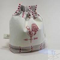 Handmade Drawstring Project Bag