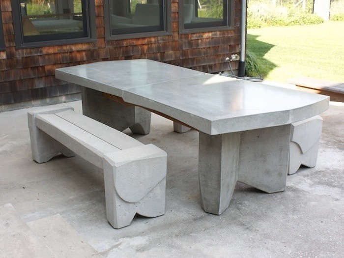 10 Easy Pieces: Concrete Outdoor Furniture: Gardenista