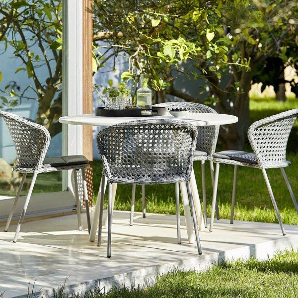 Garden Life Outdoor Living - Cane-line 'LEAN' kerti étkező garnitúra