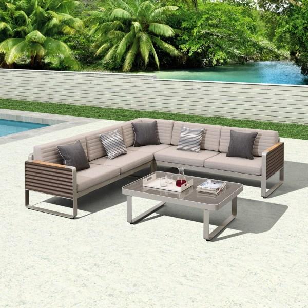 Garden Life Outdoor Living - Higold 'AIRPORT' kerti sarok ülőgarnitúra