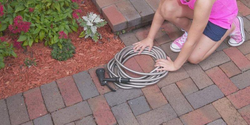 metal garden hose