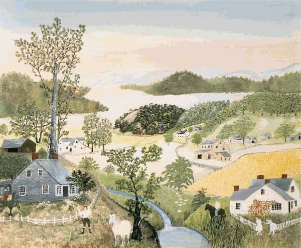 Beautiful World by Grandma Moses
