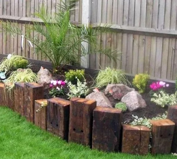 railway sleepers garden ideas 33 Quintessentially Quirky Garden Ideas that will Amaze you