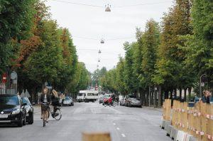 Fredicksberg alle in Copenhagen - street view
