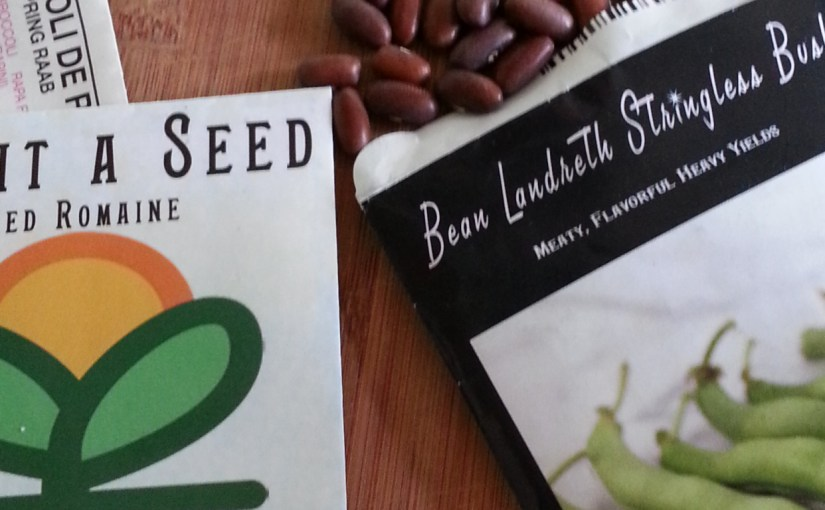 Translating the Language of Seed Packets: Hybrid, Heirloom, non-GMO, and more