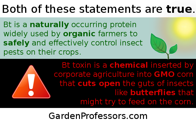 Buzz words are not evidence – The Garden Professors™