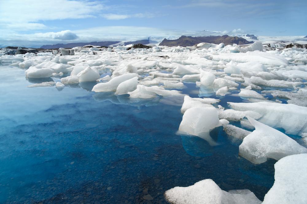 Melting icecap image sourtesy of Shutterstock