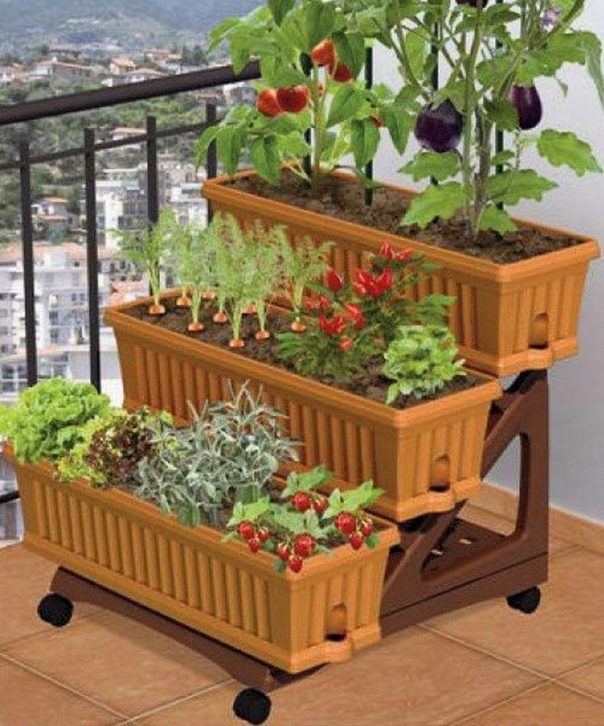 How to Grow a Balcony Vegetable Garden - The garden! on Vegetable Garden Ideas For Backyard id=82470