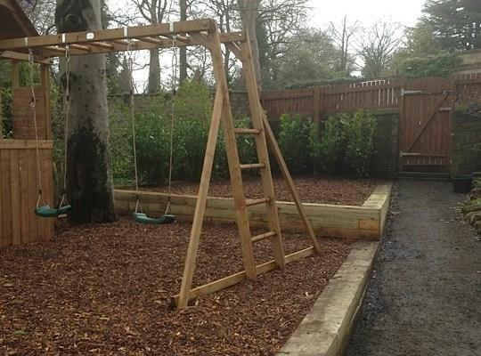 Garden transformation in Guiseley
