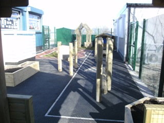 New play area for Butterflies Nursery