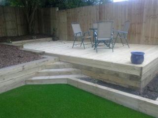 Garden makeover in Ben Rhydding