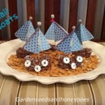 Cocoa Rice Cereal Boats