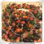 Blueberry and Strawberry Fruit Salsa