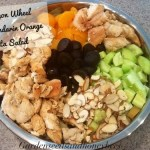 Wagon Wheel Mandarin Orange Pasta Salad