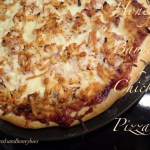 Honey Barbecue Shredded Chicken Pizza