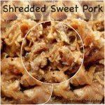 Crock Pot Sweet Pork for Salads and Sandwiches