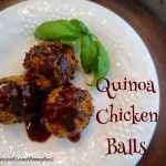 Quinoa Chicken Balls