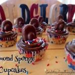 Almond Sponge Cupcakes