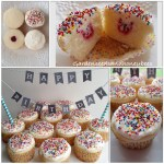 Raspberry Thumbprint Cupcakes