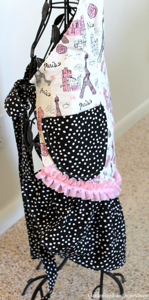 Paris Party Apron