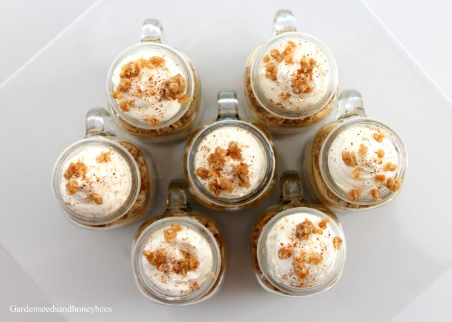 Creamy Pumpkin Pie Mini Cups