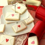 Valentine Heart Envelope Cookies