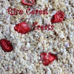 Strawberry Rice Cereal Treats