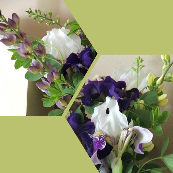 lrg purple vase