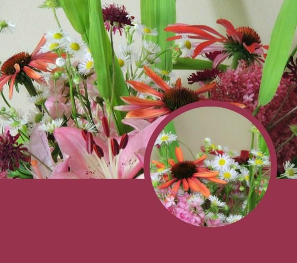 stuck foot pink vase