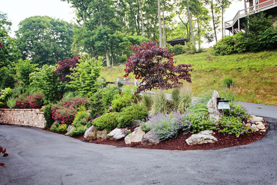 Burnsville Landscape Design by Gardens for Living on Mountain Backyard Ideas  id=88273