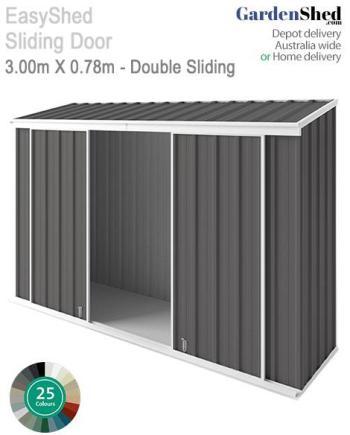 3x0.78 Double Sliding Doors