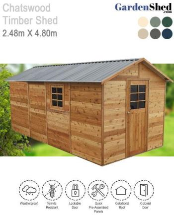 Chatswood Timber Garden Shed