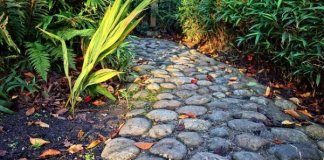 Stone Walkway To The Front Door of Your Home