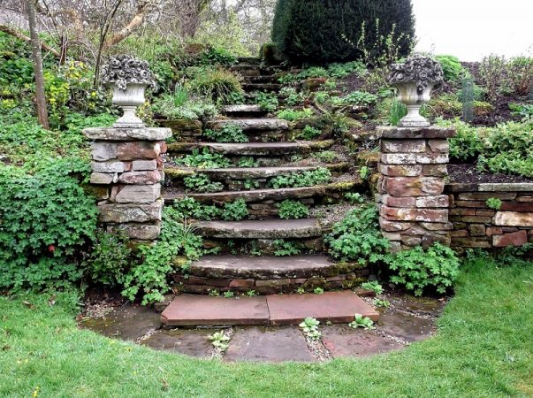A Beginner S Guide To Building Garden Steps Gardens Nursery