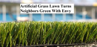 Artificial Grass Lawn Turns Neighbors Green With Envy
