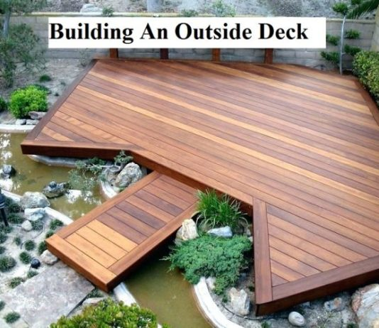 Building An Outside Deck