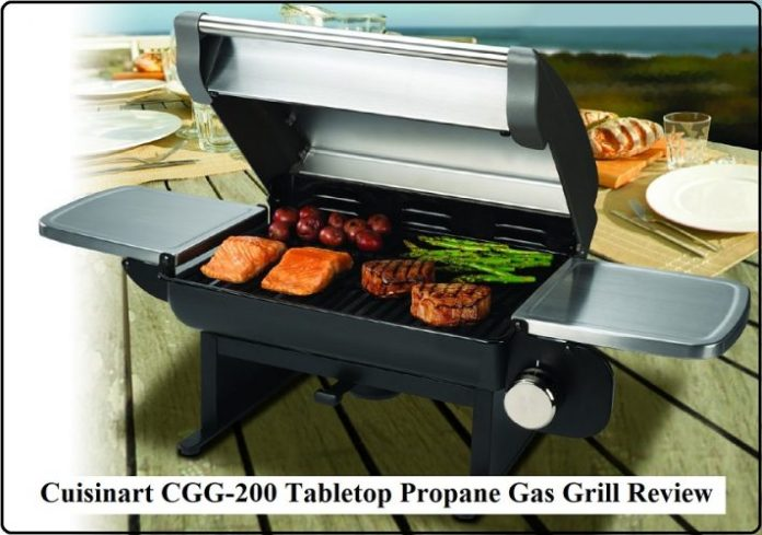 Cuisinart CGG-200 Tabletop Propane Gas Grill Review