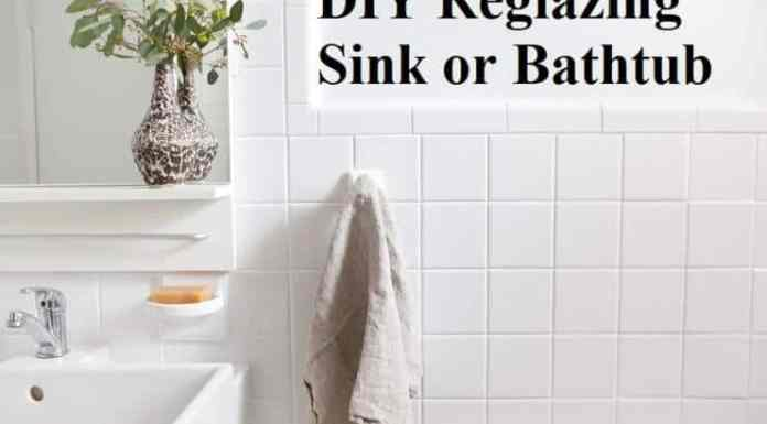 DIY Reglazing Sink or Bathtub