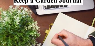 Keep a Garden Journal