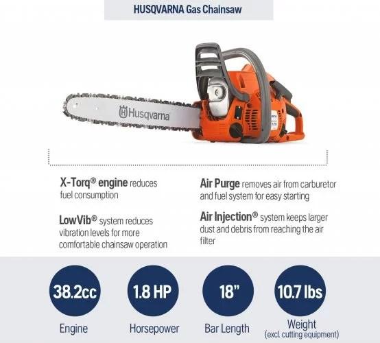 Husqvarna Gas Chain Saws
