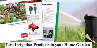 Toro Irrigation Products in your Home Garden