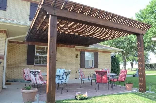 Enjoy with Pergola and Pergola Bench in your Outdoor Garden